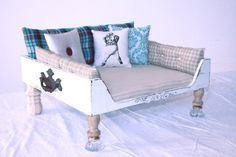 Vintage inspired dog beds