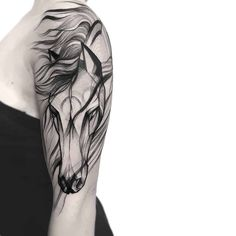 Unicorn Tattoos, Feather Tattoos, Body Art Tattoos, New Tattoos, Small Tattoos, Tattoos For Guys, Celtic Tattoos, Tatoos, Horse Tattoo Design