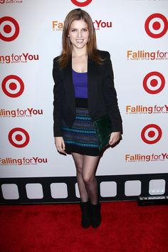Pitch Perfect's Anna Kendrick in a Mossimo Supply Co. Skirt http://rstyle.me/n/dty4mn8e from Target Style for only $24.99!