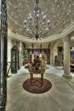194 best Foyer Ideas images on Pinterest | Entrance halls, Banisters ...