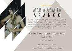 Portafolio Maria Camila Arango on Behance Architecture Portfolio Layout, Architecture Presentation Board, Revit Architecture, Online Portfolio, Autocad, Adobe, Behance, Photoshop, Graphic Design