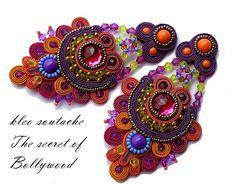 Sutasz Kleo /Soutache jewellery: kolczyki/earrings
