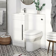 Orchard MySpace white left handed combination with contemporary back to wall toilet and seat Family Bathroom, Modern Bathroom, Small Bathrooms, Bathroom Ideas, Contemporary Bathrooms, Bathroom Renovations, Bathroom Storage, Toilet Seat Fittings, Toilet And Basin Unit
