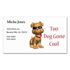 Groupon Dog Doctor Business Card  Dog Doctor And Business Cards