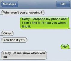 Best funny iphone text conversation. For more funny jokes and pics of the day visit www.bestfunnyjokes4u.com/