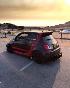 """500madness:  """"A little peace and quiet during sundown after a long trackday at Laguna Seca - few things better. Shot by our good friend Nigel Olsson Need some parts to help prep your FIAT for the track? We can help! Need something done for your FIAT? Visit our shop here in Southern California, or our upcoming location in Austin Texas! #500madness #fiat #fiat500 #abarth#fiatabarth #fiatusa #fca #500club#fiat500cinquecento #fiat500abarth#abarth500 #abarthgram #abarthisti#abarthaddict…"""
