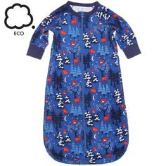 Polarn O. Pyret's kids clothes, childrens outerwear and baby layette are unique, eco friendly, and functional. Best Pajamas, Kids Pajamas, Baby Grow Bags, Childrens Pyjamas, Sleep Sacks, Scandi Style, Nightwear, Organic Cotton, Cold Shoulder Dress