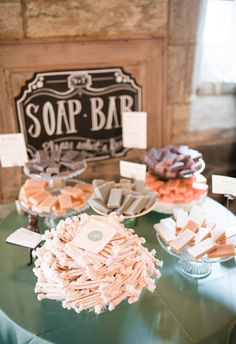 Soap bar, sweet smel