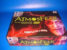 Juego de Mesa ATMOSFEAR con DVD impresionante juego!-buen estado!!