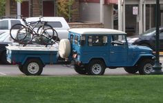 FJ40 with M416 trailer