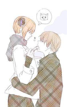 Okita Sougo х Kagura Okikagu Doujinshi, Kawaii Wallpaper, Kokoro, Shoujo, Drawing Reference, Anime Love, Anime Couples, Haikyuu, Anime Characters