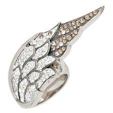 Damen Ring Engelsflügel 925 Sterling Silber mit Swarovski-Elements Silberring