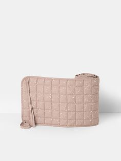 Hush Quilted Bed Bumper - Milkyway Rose - ferm LIVING