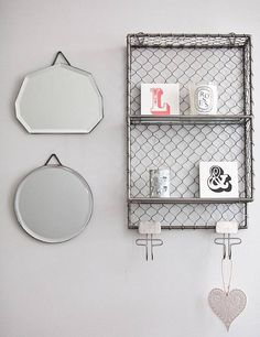 Tribecca Industrial Wall Rack