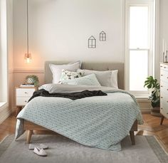 New Nordic Bedroom and Living Room Inspiration | Style By Freedom