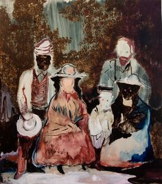 Family Q by Fu Rao. Image found here. Dresden, Thing 1, Contemporary Paintings, It Works, Drawings, Nature, Image, Figurative, Inspire