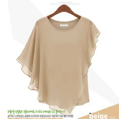 summer chiffon tops | ... summer chiffon shirt silk tops loose blouses shirts for women 2013