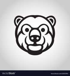 Bear Vector, Vector Free, Card Costume, Funny Character, Bear Logo, Cool Cards, Graphic Prints, Adobe Illustrator, Pdf