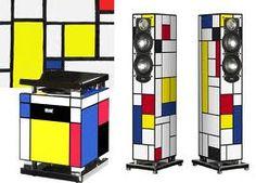 Inspired by Piet Mondrian Piet Mondrian, Wassily Kandinsky, Bauhaus, Golden Calf, Aesthetic Design, Shape And Form, Recherche Google, Painting, Inspiration