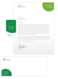 Cakery business card letterhead template cake shop for Environmental protection plan template