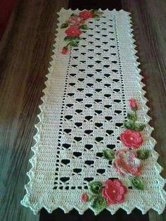 3 Demensional Crocheted Flowers