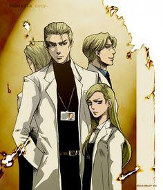 Wesker, Birkin and Alexia