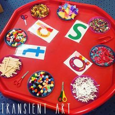"✨Early Years Ideas✨🇬🇧 on Instagram: ""🎀✂️ Using transient art to create beautiful representations of letters learnt in phonics! ✂️🎀 . . . #eyfs #eyfsteacher #eyfsideas…"""