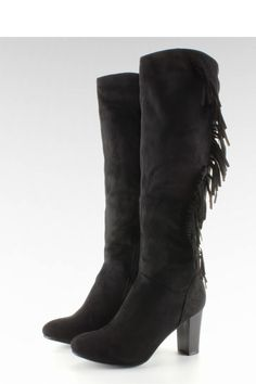 Heel boots model 63924 Inello. Heel height 8 cm       Size Insole lenght    36 23,5 cm   37 24 cm   38 24,7 cm   39 25,5 cm   40 26 cm   41 26,5 cm