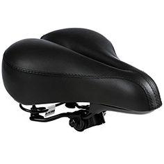"Beach Cruiser Bike Seat 10/"" x 10/"" Black New"
