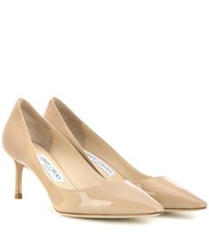 f51c2a2c87 Jimmy Choo - Romy 60 patent leather pumps - A classic silhouette in  high-shine