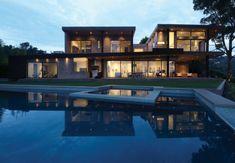 Mandeville Canyon Residenz von Griffin Enright Architects