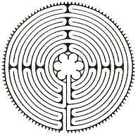 The labyrinth is a symbol of the twists and turns of life; a walking meditation. A labyrinth walk can be a brilliant journey to better self-awareness. Labyrinth Walk, Labyrinth Garden, Arte Alien, Walking Meditation, Meditation Music, Labrynth, Sabbats, Best Self, Sacred Geometry