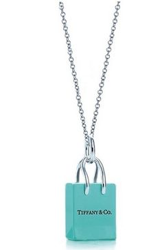 Tiffany Jewelry Necklaces Fine Silver Tiffany Blue Bags