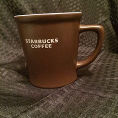 Starbucks 2008 Brown Abbey Coffee Mug 16 oz Advertising Cup Excellent Condition #StarbucksCoffeeCompany