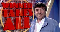Winner Takes All first aired in 1975, hosted by Jimmy Tarbuck it ran until 1987, when for the final series co-host Geoffrey Wheeler took up presenting duties, as the show moved from it's prime time Friday night slot to day time.  The original ran for 14 series,amounting to 248 episodes of which three were specials (a Christmas and two all star), between 1975 and 1988.