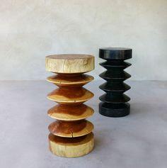 Abaidoo Wooden Stool - Pfeifer Studio