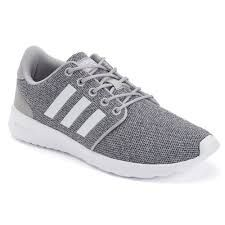 ad90f2c63ee3a Step out in sleek street style and incredible comfort wearing the women s Cloudfoam  QT Racer shoes from adidas.