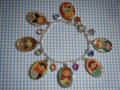 Woodland Friends Matryoshka doll kawaii charm by indieodyssey, $8.00