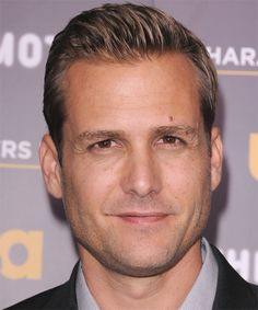 Gabriel Macht Short Straight Hairstyle - Dark Blonde