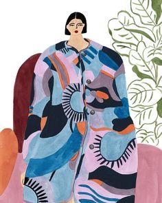 Isabelle Feliu fashion illustration