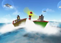Cloud Party, My Goals, Lighthouse, Boats, Journey, Community, Clouds, Future, Artwork