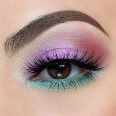 Soft Eye Makeup, Fancy Makeup, Pretty Eye Makeup, Bright Eye Makeup, Rave Makeup, Eye Makeup Steps, Creative Makeup Looks, Eye Makeup Art, Colorful Eye Makeup