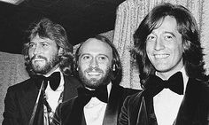 The Bee Gees were (are) Jewish.  Robin and his brothers Maurice, Brian, and Andrew were born to a Jewish mother, Barbara Pass and a non-Jewish father Hugh Gibb.