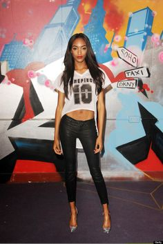 Source: commandotwocrooked - http://commandotwocrooked.tumblr.com/post/52871273132/jourdan-dunn-looking-smoking-as-per-usual-at-last