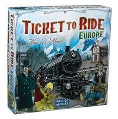 NEW Ticket To Ride  Europe FREE SHIPPING #DaysofWonder