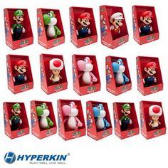 """9"""" Classic Mario Figures (Master Case, 16pcs)"""
