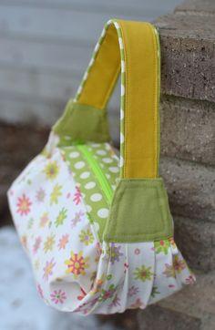 bolsa de ikat: hacer una bolsa Capítulo 13: El Séptimo Bolsa - plisados y pliegues