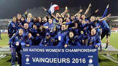 Six Nations féminin : La France s'offre l'Angleterre et le Tournoi ! - Ouest-France - 18/03/2016