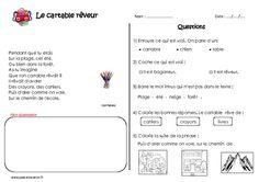 Le cartable rêveur - Ce1 - Poésie