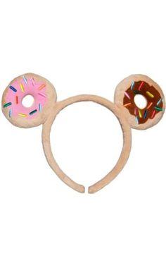 Tokidoki Donutella Plush Doughnut Sprinkles Fantasy Ears Kawaii Headband ❤ Tokidoki #tokidokilovesyou